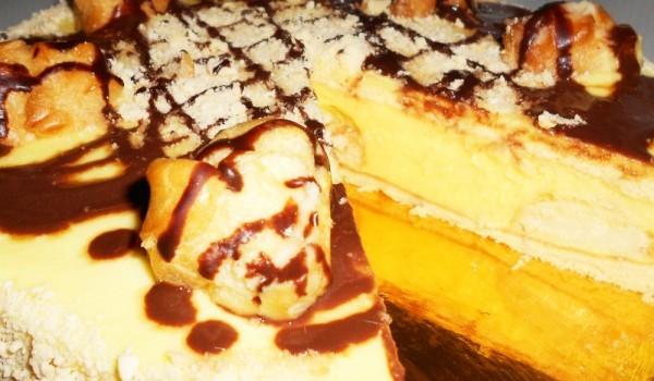Лесна еклерова торта