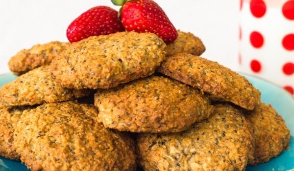 Бисквити със семена от чия