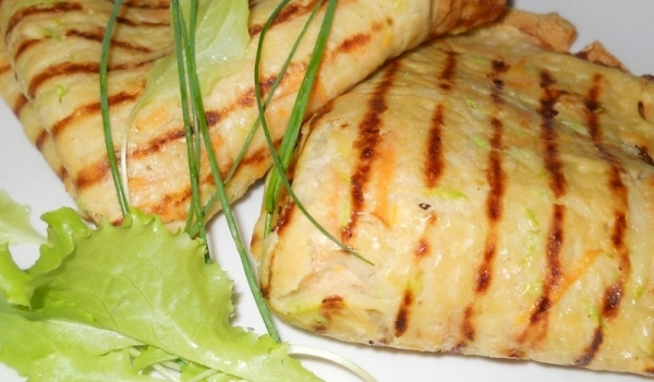 Зеленчукови палачинки със Снежанка