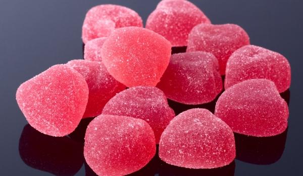 Бонбони от малини