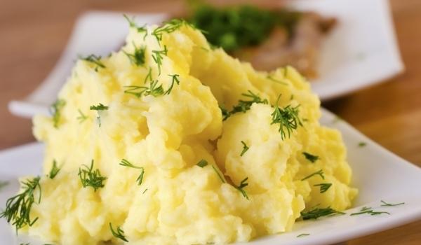 Чесново картофено пюре