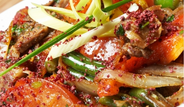 Зимен зеленчуков сач