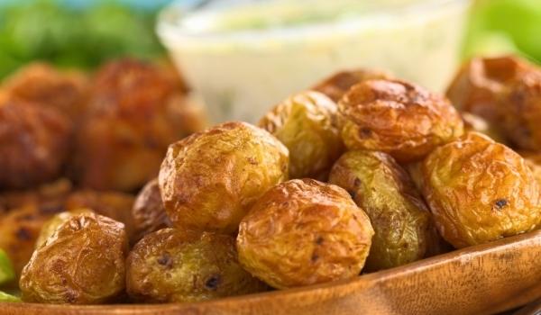 Пресни картофи на фурна с горчица