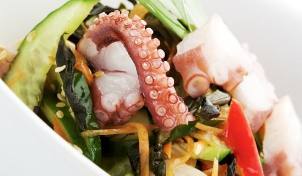 Салата от октопод