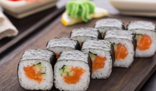 Суши с пушена сьомга