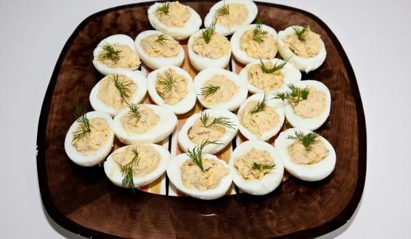 Яйца с майонеза