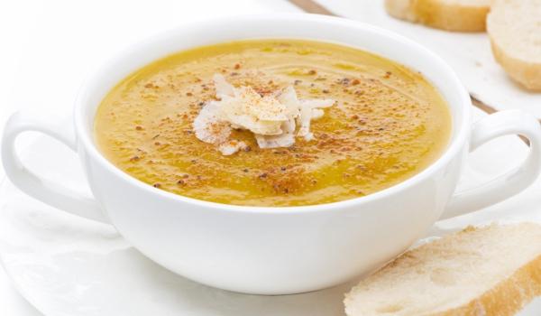 Крем супа от леща по неаполитански