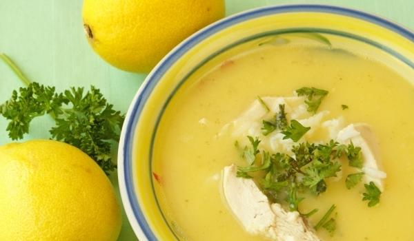 Гръцка супа Авголемоно