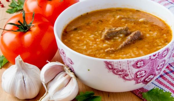Говежда супа с праз и ориз