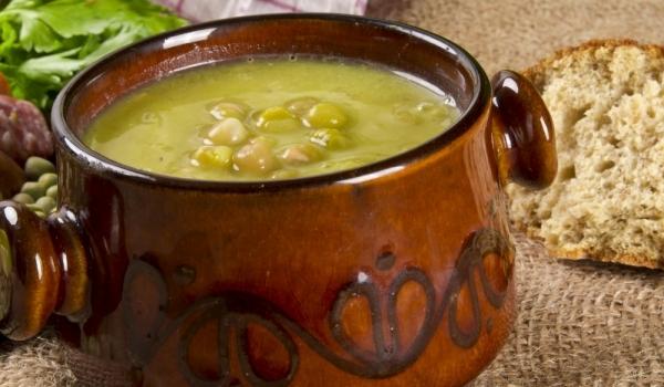 Грахова супа с гъби