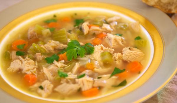 Пилешка супа с джинджифил