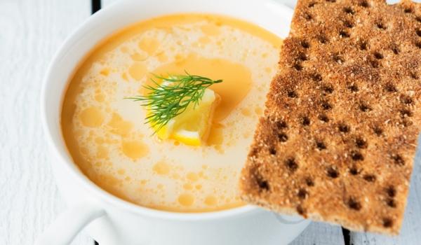 Гръцка супа с лимони