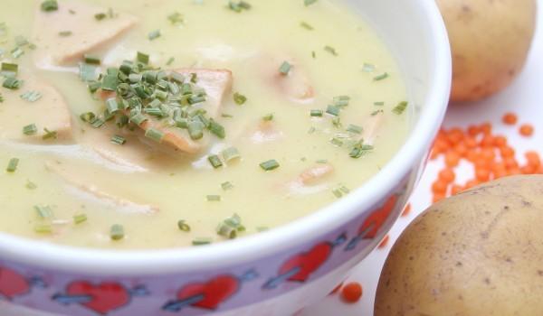 Супа от риба с карфиол
