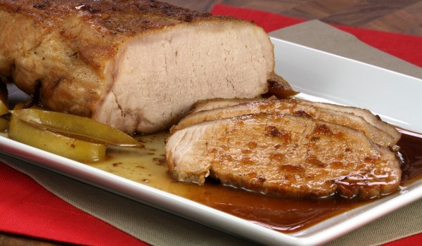 Печен свински бут