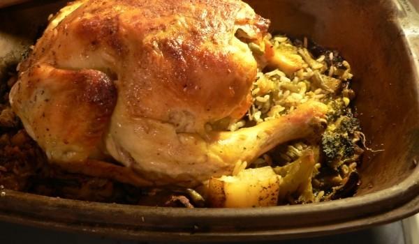 Пиле с кисело зеле