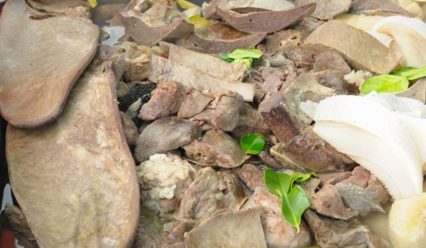 Агнешки дреболии по касапски