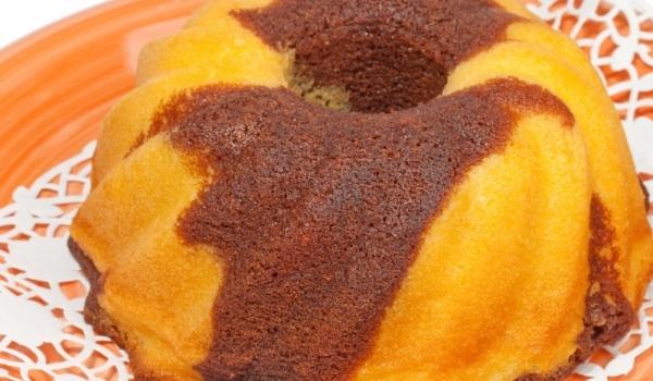 Портокалов кекс с шоколад