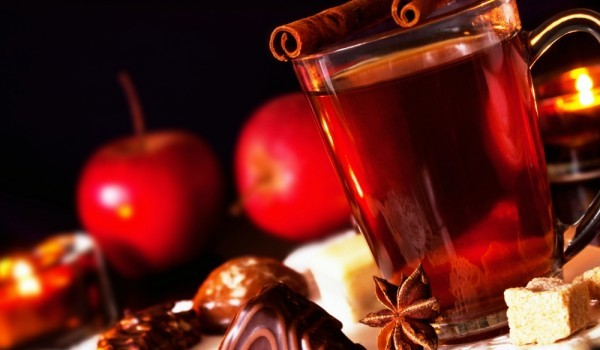 Ябълково греяно вино